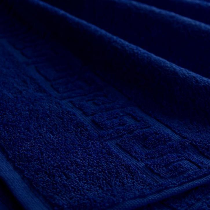 Полотенце махровое. Цвет темно-синий