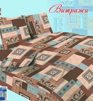 КПБ, Бязь 100 гр. пл. Витражи