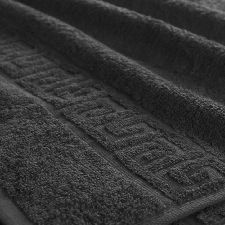 Полотенце махровое. Цвет черный