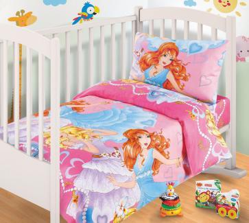 Комплект детский (ясли) Принцесса
