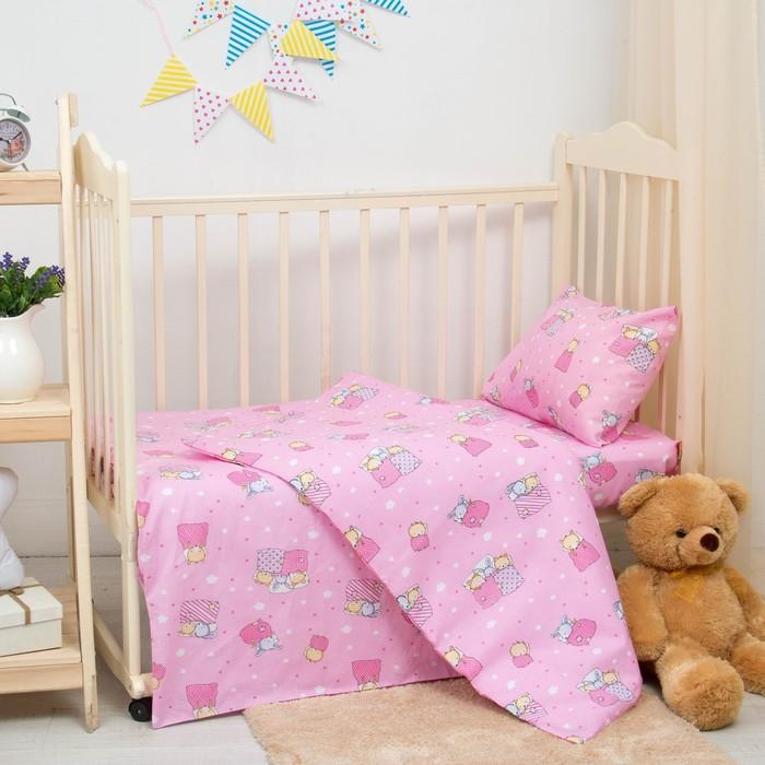 Комплект детский (розовый)