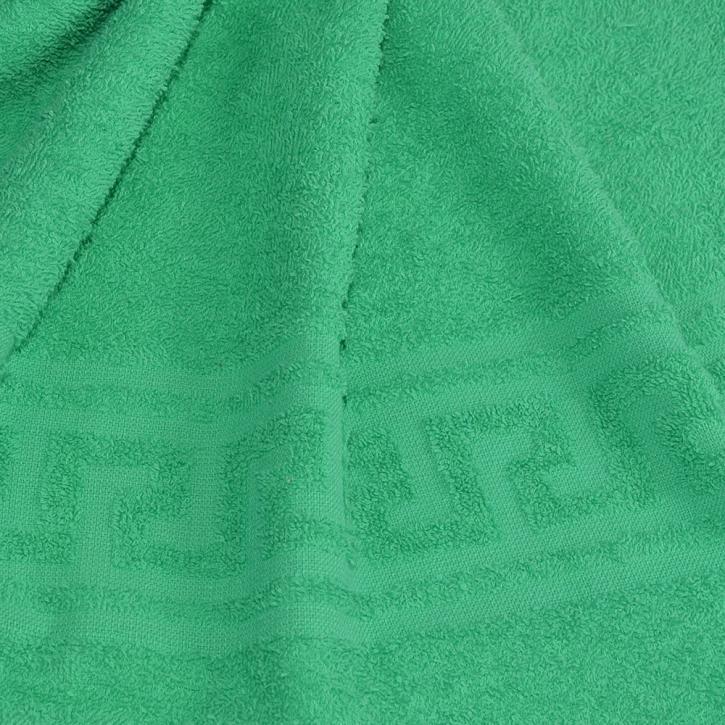 Полотенце махровое.  Цвет зелёный