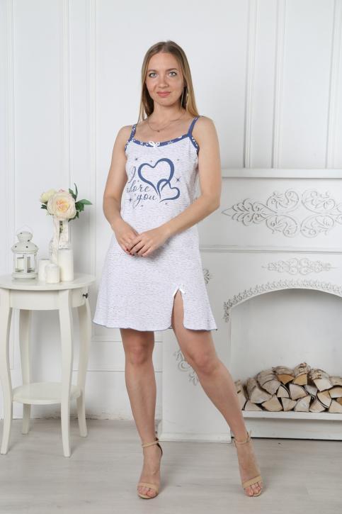 """Ночная сорочка """"Сердца"""""""