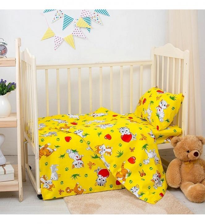 Комплект детский (желтый)